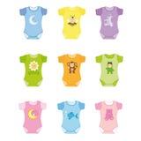 De kleren van de baby vector illustratie