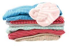 De kleren van de baby Stock Foto