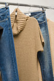 De kleren van de manier stock foto's