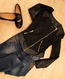 De kleren van de maniervrouw Royalty-vrije Stock Foto