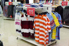 De kleren van de zomer Stock Foto's