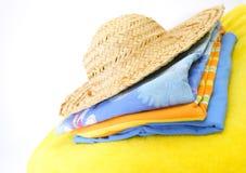 De kleren van de zomer Stock Foto
