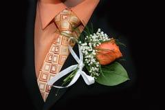 De kleren van het huwelijk royalty-vrije stock fotografie