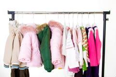 De kleren van kinderen Stock Afbeeldingen