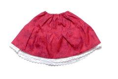 De kleren van kinderen: rok Royalty-vrije Stock Foto's