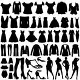 De klerenvector van de manier Royalty-vrije Stock Fotografie