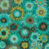 De kleur barstte patroonwintertaling en bruin Royalty-vrije Stock Afbeeldingen