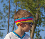 De Kleur loopt - Mamaia 2015, Roemenië Stock Afbeelding