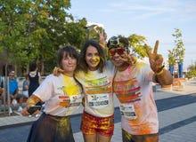 De Kleur loopt - Mamaia 2015, Roemenië Royalty-vrije Stock Afbeelding