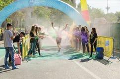 De Kleur stelt Boekarest in werking Royalty-vrije Stock Afbeelding