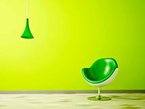 De kleur stelt Groene Muntachtig in de schaduw Royalty-vrije Stock Foto