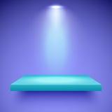De kleur van de plankenverlichting Stock Foto's