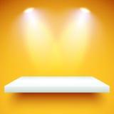 De kleur van de plankenverlichting Stock Foto