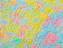 De kleur van de textuur Stock Fotografie