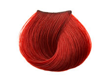De kleur van het haarlok Royalty-vrije Stock Afbeelding