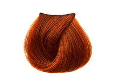 De kleur van het haarlok Stock Foto