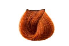 De kleur van het haarlok Stock Afbeeldingen