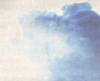 De kleur van het water royalty-vrije illustratie