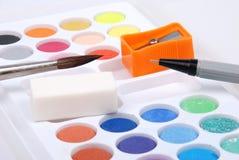 De kleur van het water Royalty-vrije Stock Afbeeldingen