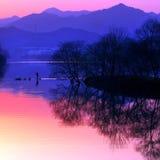 De kleur van het water royalty-vrije stock foto's