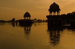 de kleur van Rajasthan stock foto's