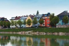 De kleur van Salzburg Stock Foto