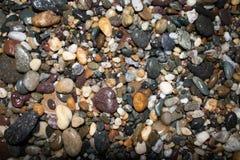 De kleur van de steneninzameling stock fotografie