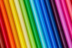 De kleur verspert Tellersserie Stock Afbeelding