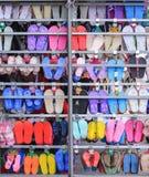De kleur Wallpepers Thailand Kambodja van schoenenazië Royalty-vrije Stock Foto