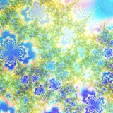 De kleuren Abstract Van de achtergrond lente en van de zomer ontwerpmalplaatje Stock Foto's