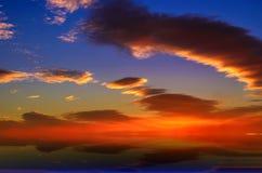 De kleuren en de hemel Royalty-vrije Stock Afbeelding