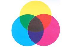 De kleuren van af:drukken Stock Foto