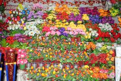De kleuren van de bloemwinkel Royalty-vrije Stock Foto's