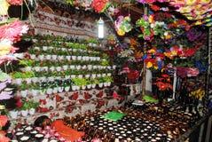 De kleuren van de bloemwinkel Stock Fotografie