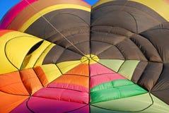 De Kleuren van de Ballon van de hete Lucht Stock Foto
