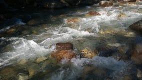 De kleuren van de boogvallei banff van de herfststroomversnelling Stock Foto's