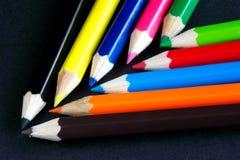 De kleuren van de chevron Royalty-vrije Stock Foto