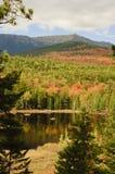 De kleuren van de daling in Maine Royalty-vrije Stock Foto's