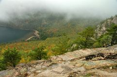 De Kleuren van de herfst, Acadia royalty-vrije stock afbeeldingen