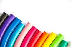 De kleuren van de klei Royalty-vrije Stock Fotografie