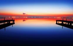 De kleuren van de nacht stock afbeeldingen