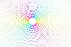 De kleuren van de regenboog royalty-vrije illustratie