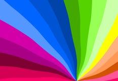De kleuren van de regenboog stock illustratie