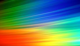 De kleuren van de regenboog Royalty-vrije Stock Afbeeldingen