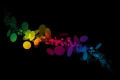De Kleuren van de regenboog Royalty-vrije Stock Afbeelding