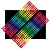 De Kleuren van de regenboog Stock Foto's