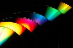 De kleuren van de regenboog Stock Afbeeldingen