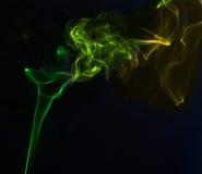De kleuren van de rook Stock Afbeeldingen