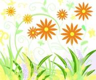 De kleuren van de tuin stock fotografie