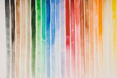 De kleuren van de waterverf royalty-vrije stock fotografie